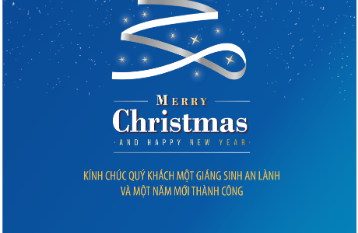 Mừng Giáng sinh An lành và Năm mới thành công
