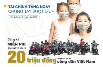 Bảo Việt hỗ trợ 20 triệu đồng/Ca nhiễm Sars-Cov-2 dành cho một triệu công dân Việt Nam đăng ký đầu tiên