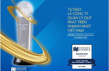 Công ty Quản lý Quỹ Bảo Việt vinh dự được bình chọn là Công ty Quản lý Quỹ phát triển nhanh nhất Việt Nam 2021